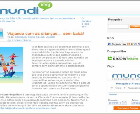 Site Mundi – Junho 2010