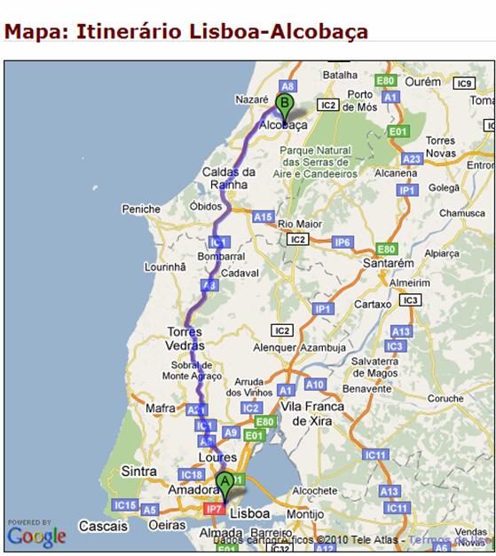mapa de portugal onde fica obidos Portugal, passeios perto de Lisboa: Óbidos e Alcobaça – dicas e  mapa de portugal onde fica obidos