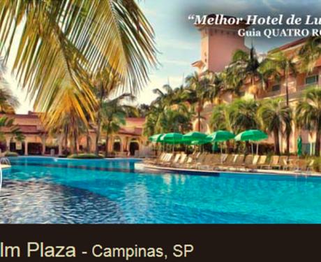 Zarpo: selecionamos o Royal Palm Plaza em Campinas, a Pousada do Quilombo na Serra da Mantiqueira, o Parador Lumiar em Nova Friburgo e o Aruanã Eco Praia em Aracaju.