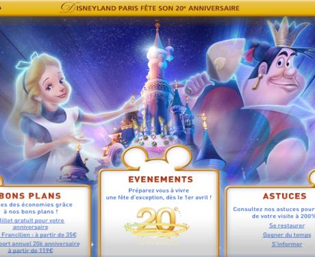 Entradas mais baratas para a Disneyland Paris? Compre os bilhetes Franciliens.
