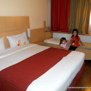 Hotel Review: Ibis Obelisco em Buenos Aires, básico e prático para famílias com filho único