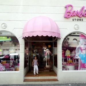 Buenos Aires com crianças: Barbie Store, uma casa bem rosada em Palermo!