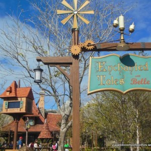 Enchanted Tales with Belle, encontro com a Bela na New Fantasyland