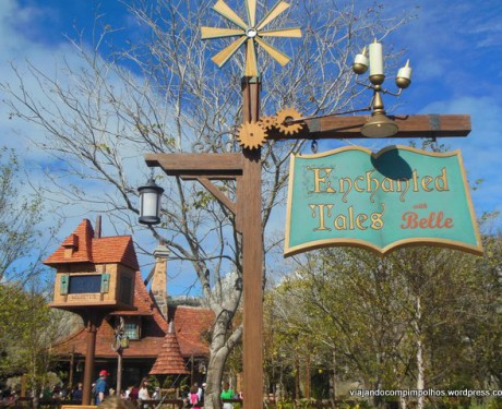 Enchanted Tales with Belle, encontro com a Bela na New Fantasyland