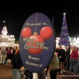 Natal na Disney: Mickey´s Very Merry Christmas Party!