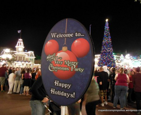 Natal na Disney: Mickey´s Very Merry Christmas Party!