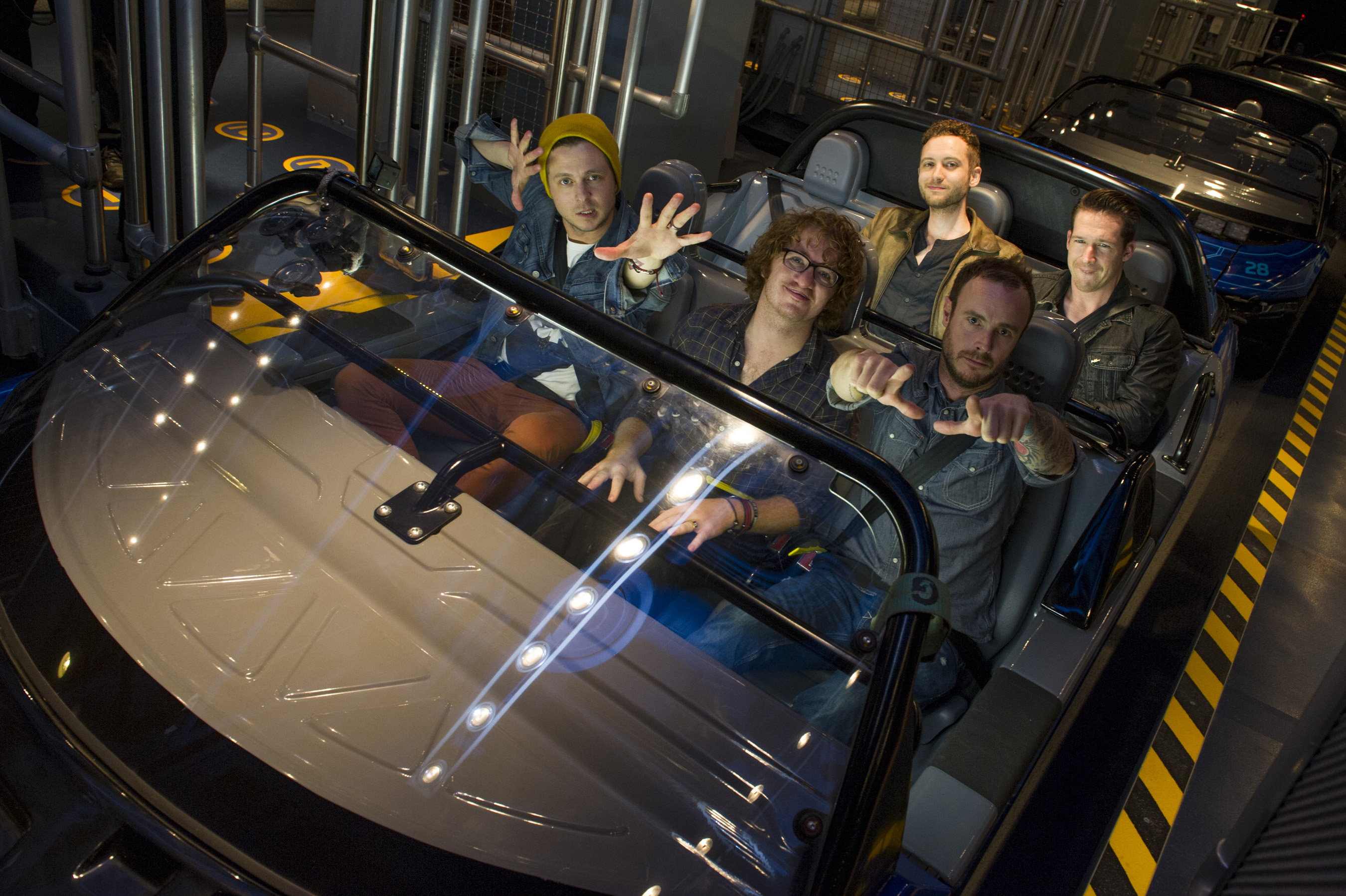 One Republic Takes a Spin on Test Track Presented by Chevrolet