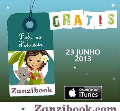 Lulu na Polinésia: um aplicativo em português para crianças viajantes!