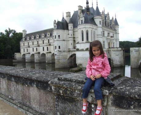 Chenonceau: um castelo de Princesas de verdade para visitar com as crianças!