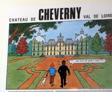 Cheverny: o Castelo de Tintim no Vale do Loire