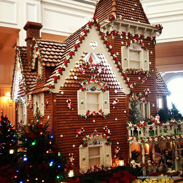 Gingerbread no Grand Floridian