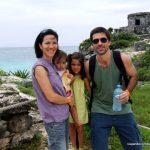 Cancun com crianças: descobrindo as ruínas maias de Tulum