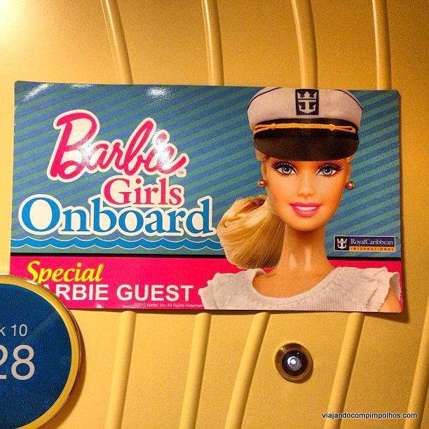 Cruzeiro da Barbie Royal Caribbean