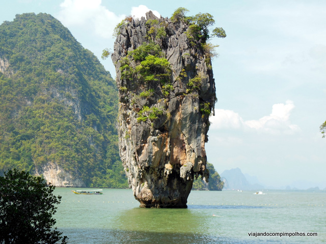 Phuket com crianças Ilha do James Bond