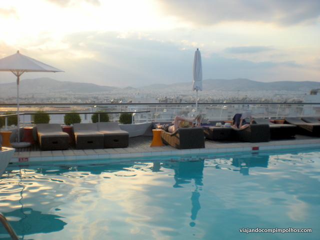 Piscina Novotel Atenas