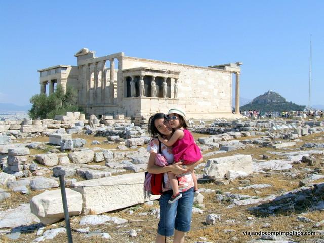 Cariátides Atenas