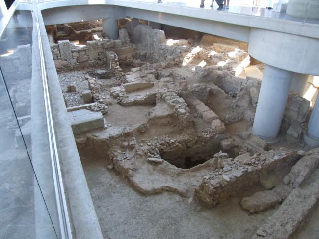 Escavações do Museu Acrópolis