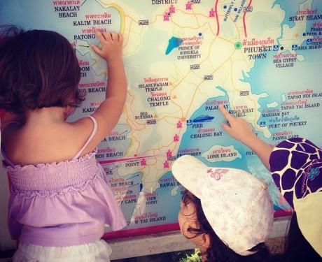 Me perguntaram o que eu achava de viajar com meus filhos   :-)