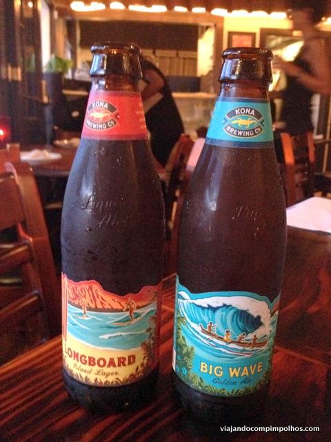 Cerveja no Hawaii