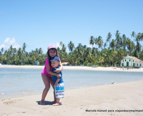 Praia dos Carneiros com crianças: dicas da Luisa (5 anos), do Daniel (2 anos) e dos seus pais.