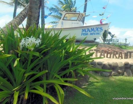 Maui com crianças: Mama's Fish House, um restaurante imperdível!