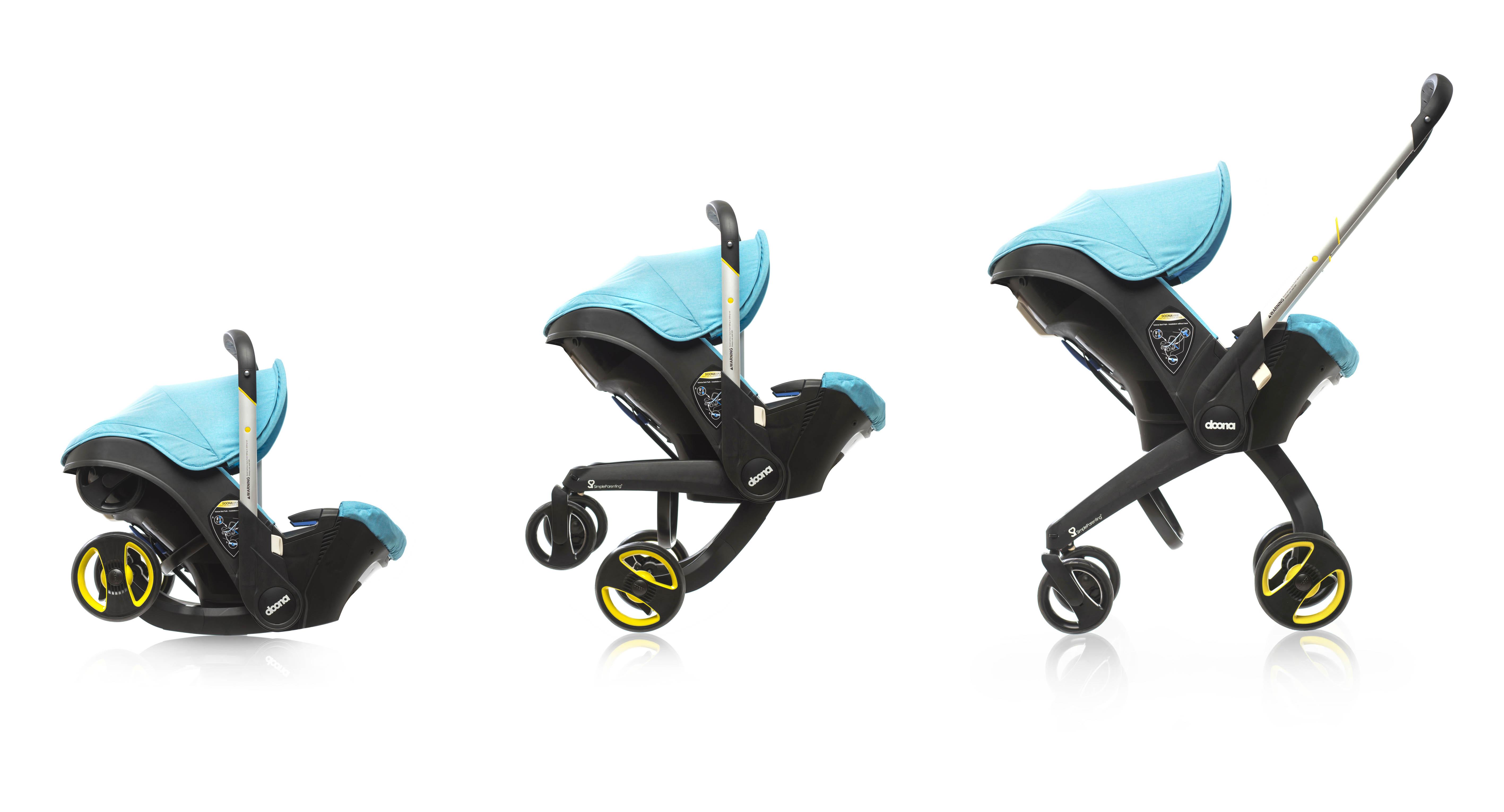 Doona: o bebê conforto que vira carrinho!