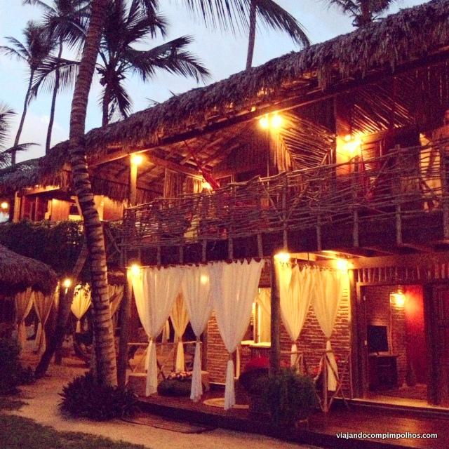 Vila Kalango à noite