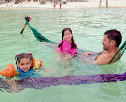 Jericoacoara com crianças: passeio à Lagoa do Paraíso.