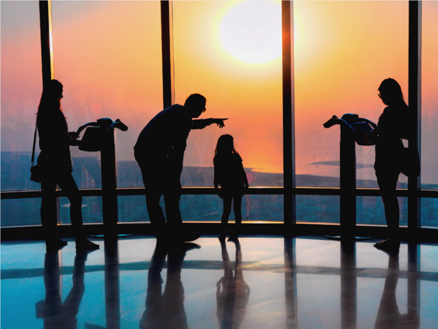 Viewing Deck on 124th Floor, Burj Khalifa 2