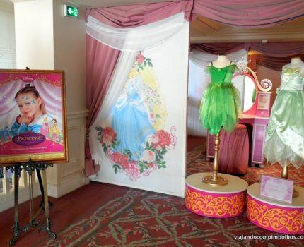 A transformação em Princesa na Disneyland de Paris