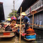 Bangkok com crianças: o pitoresco mercado flutuante de Damnoen Saduak