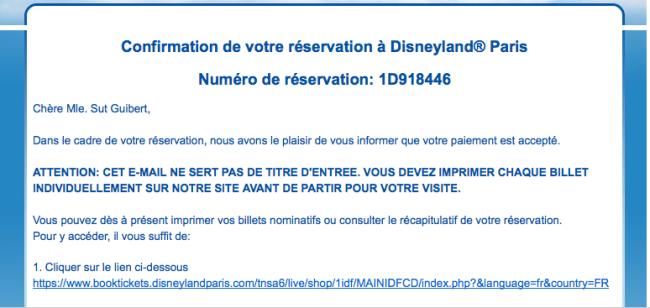 compra de ingressos Disneyland Paris