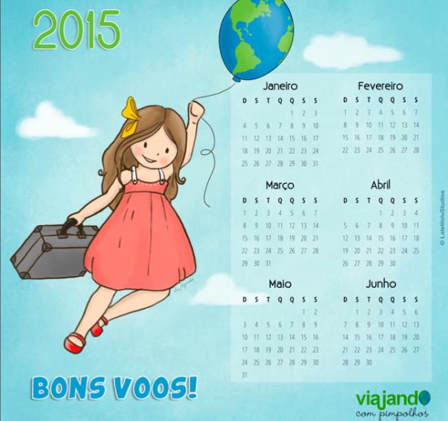 Calendário VcPimpolhos 2015