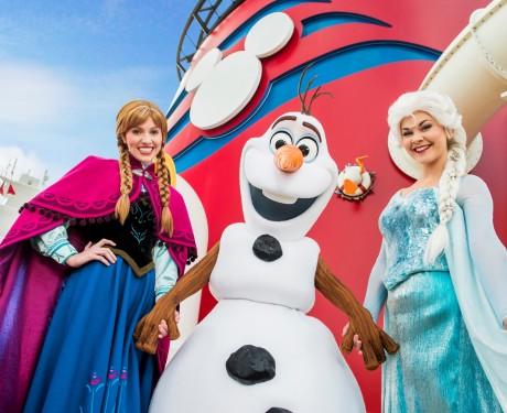 """""""Frozen"""" inspira novas atrações nos cruzeiros Disney Cruise Line"""