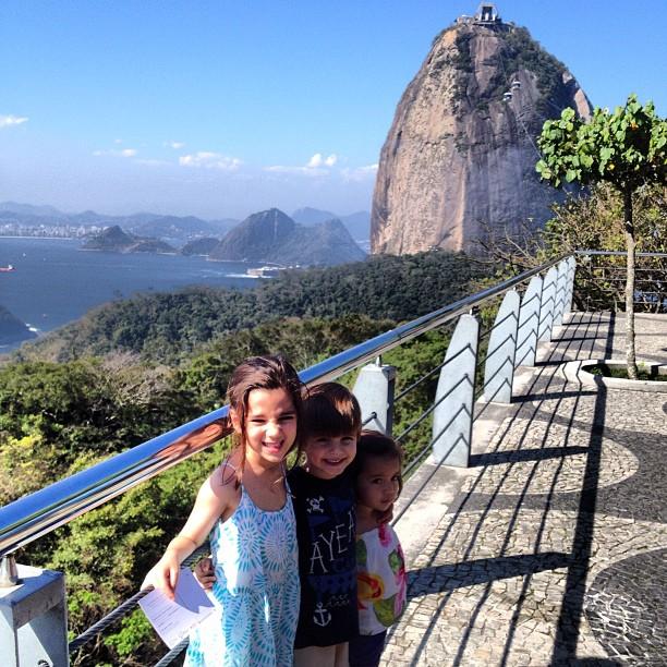 crianças no Rio de Janeiro