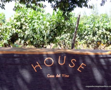 House Casa del Vino: vinícola e restaurante kids friendly perto de Santiago.
