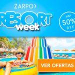 Resort Week: mais de 30 resorts em super promoção e com reserva até dezembro!