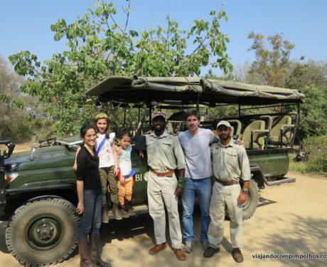 O que levar na mala para um safári com crianças na África do Sul?