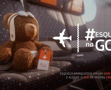 GOL lança campanha #EsqueciNaGol neste Dia das Crianças