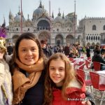 A abertura do Carnaval de Veneza com crianças
