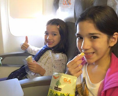 Sabuguito, o novo snack orgânico e integral para as crianças no serviço de bordo da GOL