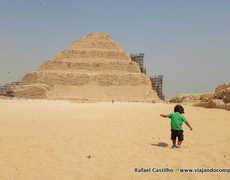 Egito com crianças e bebês