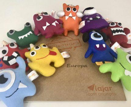 Europa com monstrinhos!