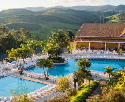 Monreale Hotel Resort, um hotel família em Poços de Caldas