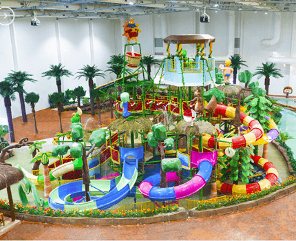 Tauá Atibaia lança o Aquapark, primeiro parque aquático indoor da América Latina!