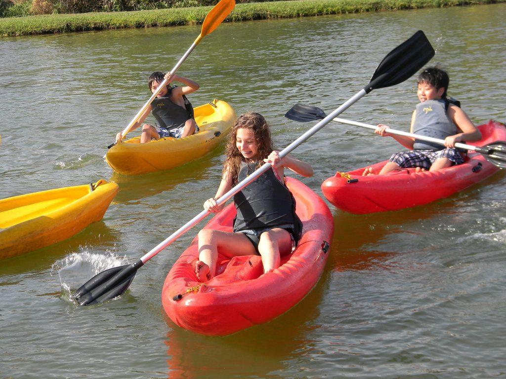 Brotas cidades com atividades radicais e esportivas para crianças